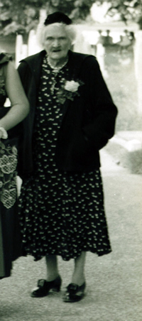 Kezia Ellis (née Bishop) in April 1957.