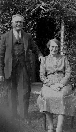 Robert Maurice Bishop with his wife Dorcas (née Hawes). Photo: Ralph Sparrow.