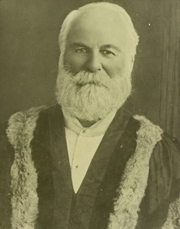 Maurice Bowers in his Mayoral Robes, 1910-1911. Photo: Ipswich City Council.