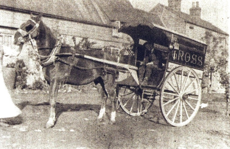 Jabez Cross' bakery cart at Littleport. Photo: The Littleport Society