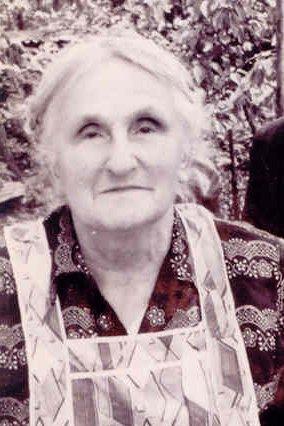 Clara Emma Newman (née Gilbert) circa 1962. Photo: Andrew Martin