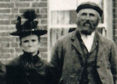 James Gilbert with wife Elizabeth (née Howlett)