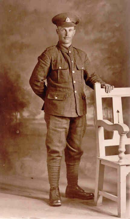Herbert Martin (1884-1917) during WWI