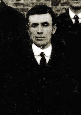 Charles Cooper Newman at his mother's funeral, September 1925. Photo: Carol Trigg