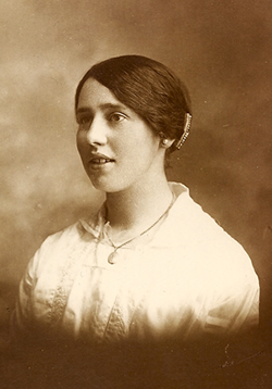 Adelaide Mary Yarrow circa 1915.