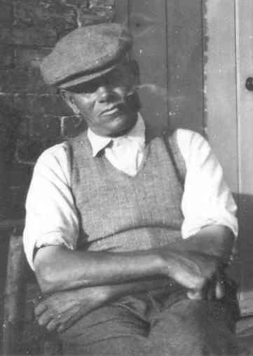 Ernest Herbert Barber at Witchford, 1953.