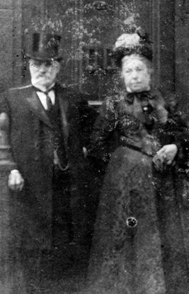 John Cooper with his wife Sarah (née Parkin)