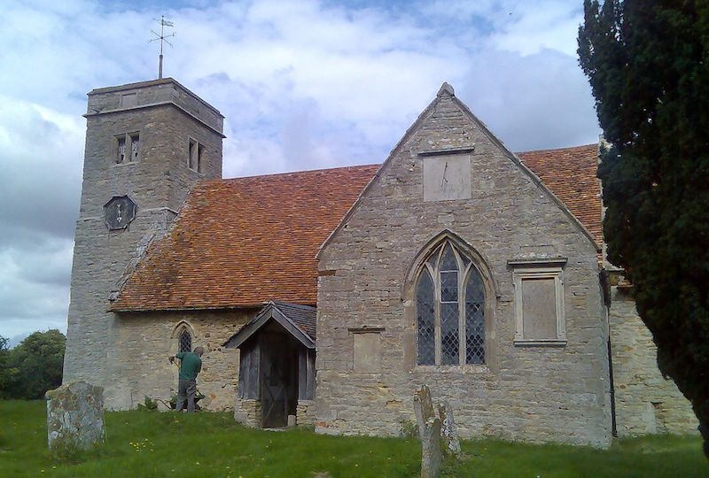St. Margaret's Church at Knotting, Bedfordshire