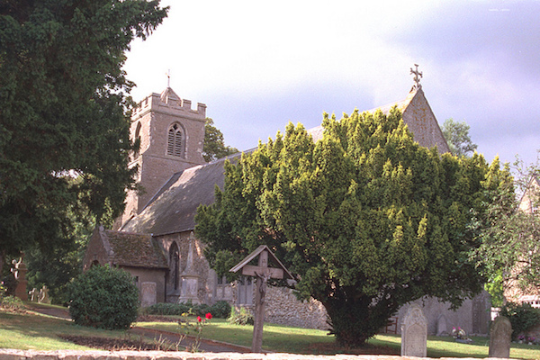 St. Peter ad Vincula Church at Coveney, 1998. Photo: Andrew Martin.