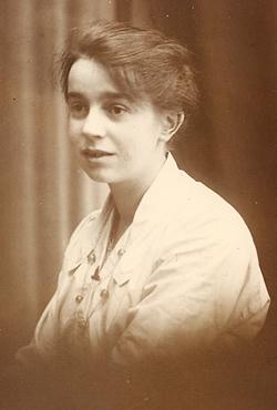 Ada Yarrow circa 1915. Photo: Andrew Martin