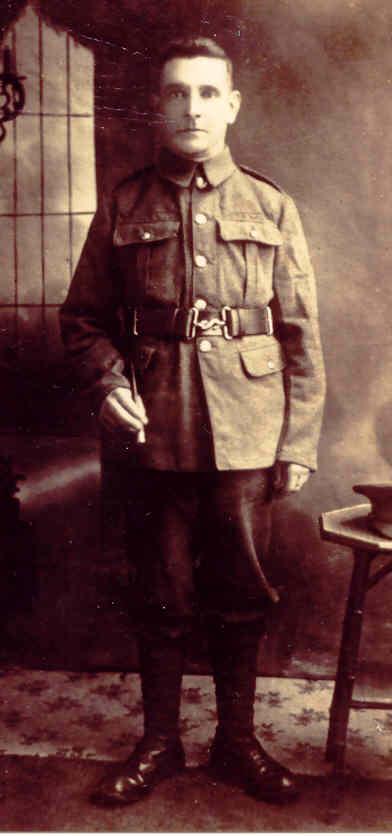 Owen Yarrow circa 1915. Photo: Andrew Martin