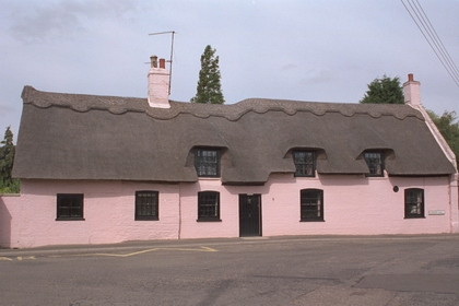 The Three Horseshoes pub in Little Thetford, now a private home. Photo: Andrew Martin